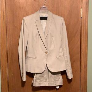 Zara suit.